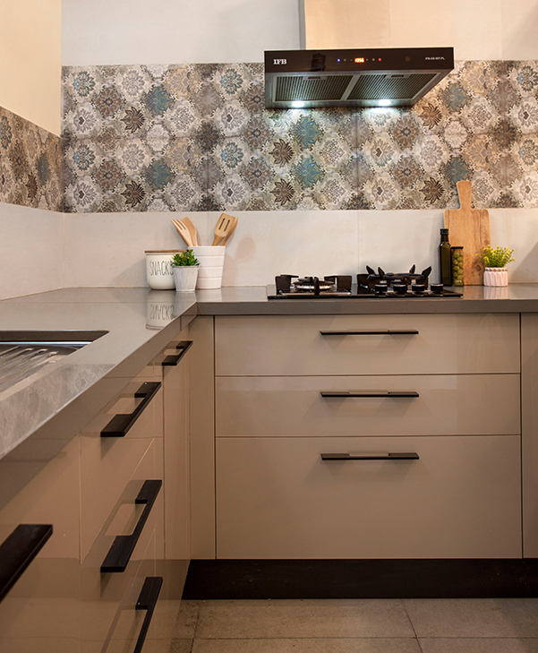 Finished IFB Modular Kitchen Project | Style and Substance - IFB Modular Kitchen