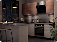 Champagne Muse | Kitchen Collection (Mobile) - IFB Modular Kitchen