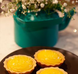 Lemon tarts and coffee over a chat with Mrs. Pinto | Instagram Post - IFB Modular Kitchen
