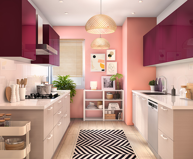 Hello Happiness | Kitchen Collection (Mobile) - IFB Modular Kitchen