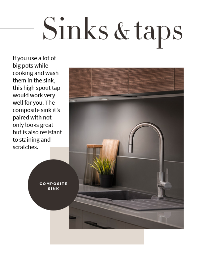 IFB Composite Sink | IFB Sinks and Tops - IFB Modular Kitchen