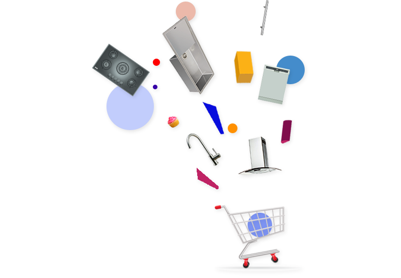 Shopping Basket with range of products from IFB